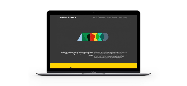 Jätkänsaari Mobility Lab -sivusto